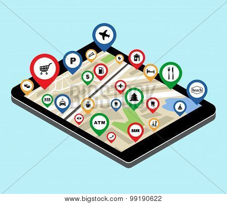 City Navigation App