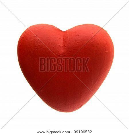 Papier Mache Heart