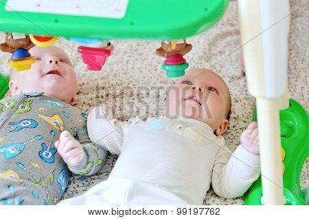 Babies With Toy