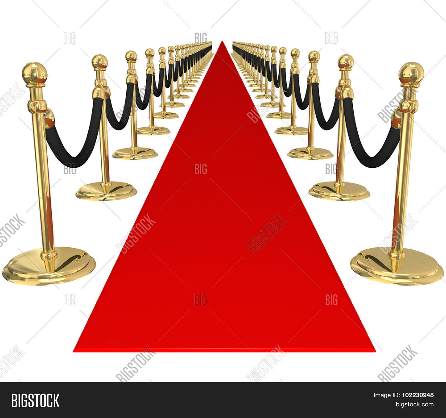 Red Carpet Line Gold Image & Photo (Free Trial) | Bigstock