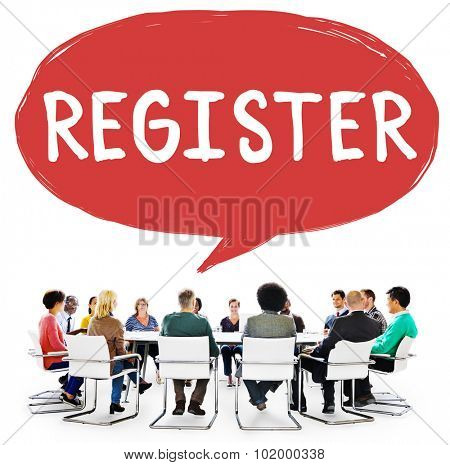 Register Subscribe Enlist Membership Concept