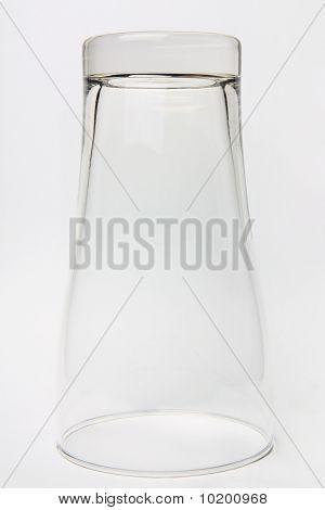 Glass Upside Down