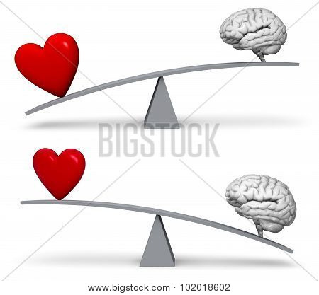 Weighing Heart Or Head Set