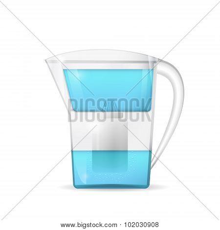 Water Filtration Jug