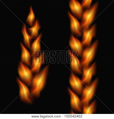 Fiery Tresses