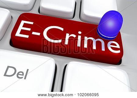 E-crime Concept