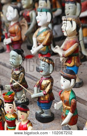 Vietnamese Wooden Carvings