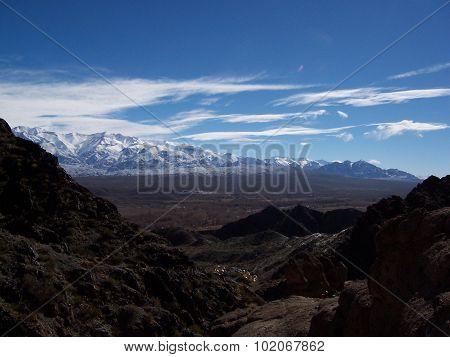 Uspallata mountains