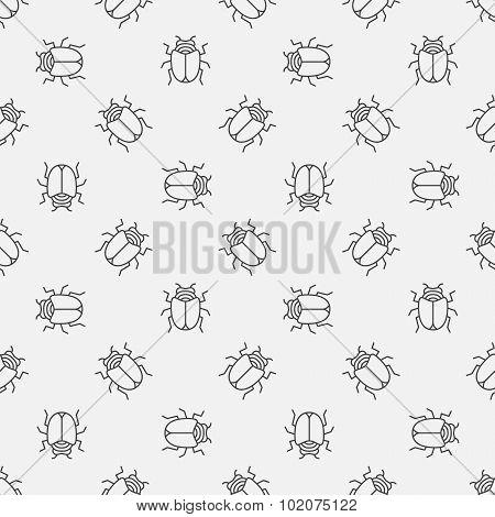 Bugs seamless pattern