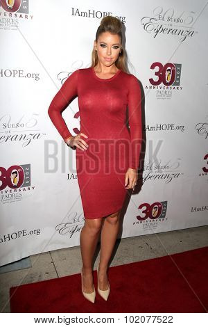 LOS ANGELES - SEP 17:  Jadyn Douglas at the Padres Contra El Cancer's 15th Annual