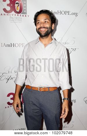 LOS ANGELES - SEP 17:  Izzy Diaz at the Padres Contra El Cancer's 15th Annual