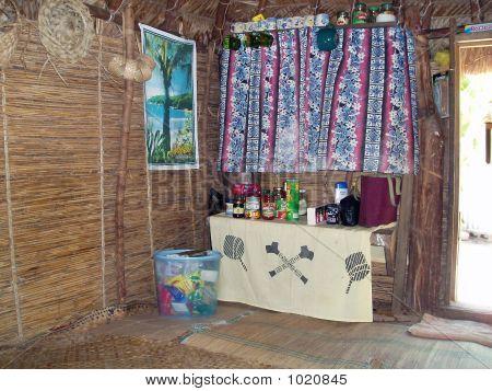 Inside A Village House 1