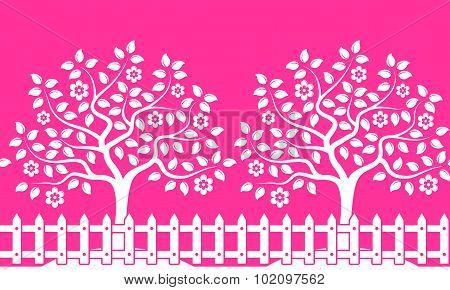 Flowering Orchard Border