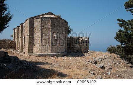 Ruins Of An Abandoned Orthodox Christian Church