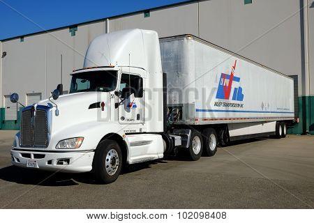 Truck at Warehouse