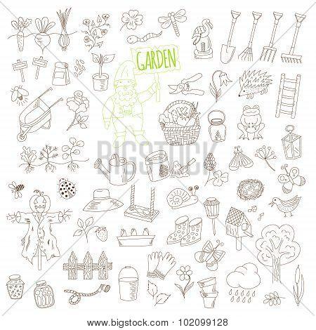 Gardening Doodle Set