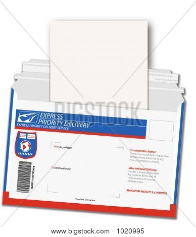 Express Delivery Letter