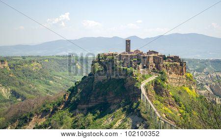 Civita di Bagnoregio , Viterbo province , Lazio region , Italy