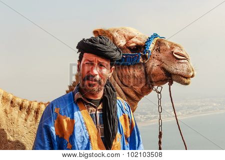 Camel driver with his camel