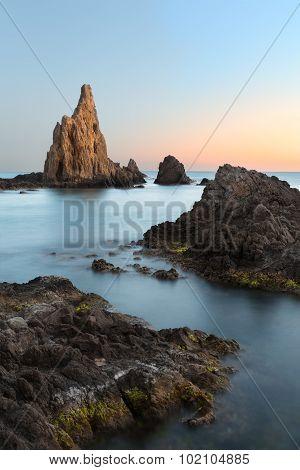 Sunset At Cabo Del Gata, Almeria, Spain
