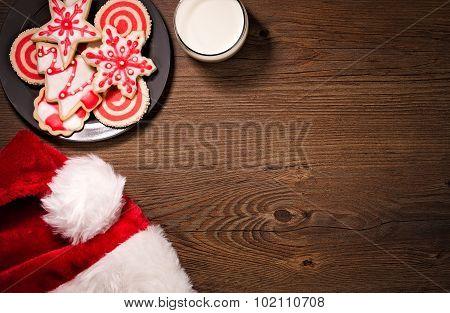 Milk And Christmas Cookies