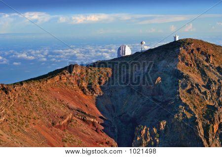 Observatory In Sunrise Light