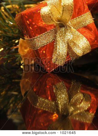 Shiny Red Present