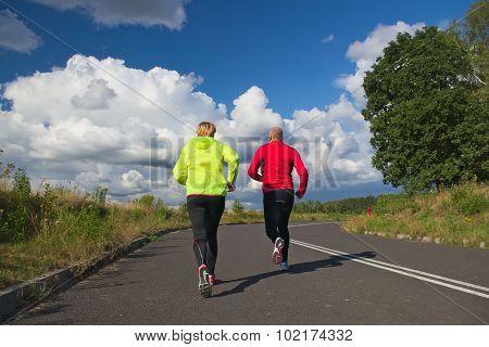 Common running.