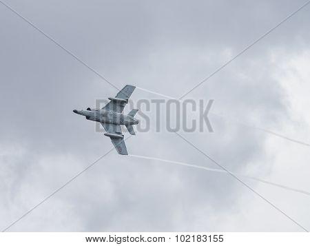 French Navy Etendard Fighter
