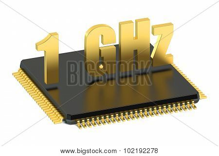 Chip Cpu For Smatphone And Tablet 1 Ghz Frequency