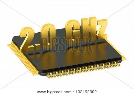 Cpu Chip For Smatphone And Tablet 2.0 Ghz Frequency