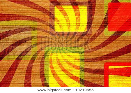 Grunge Abstract Background With Beams.
