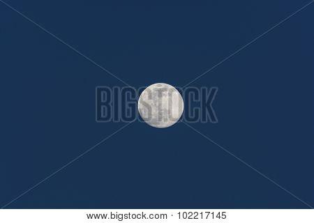 The Moon In Evening Twilight