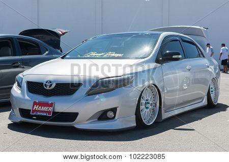 Toyota Corolla Custom On Display