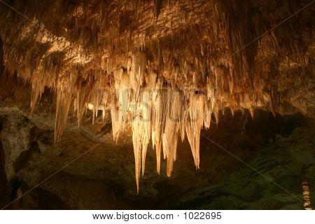 Carlsbad Caverns Stalactites
