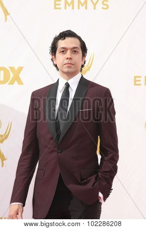 LOS ANGELES - SEP 20:  Geoffrey Arend at the Primetime Emmy Awards Arrivals at the Microsoft Theater on September 20, 2015 in Los Angeles, CA