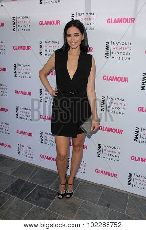 Kym JohnsonLOS ANGELES - SEP 19:  Edy Ganem at the 4th Annual Women Making History Brunch at the Skiirball Cultural Center on September 19, 2015 in Los Angeles, CA
