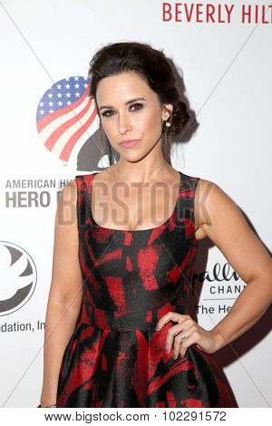 LOS ANGELES - SEP 19:  Lacey Chabert at the 5th Annual American Humane Association Hero Dog Awards at the Beverly Hilton Hotel on September 19, 2015 in Beverly Hills, CA