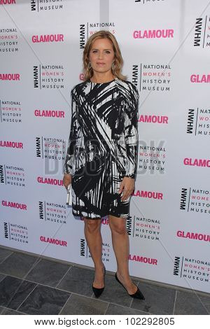 LOS ANGELES - SEP 19:  Kim Dickens at the 4th Annual Women Making History Brunch at the Skiirball Cultural Center on September 19, 2015 in Los Angeles, CA