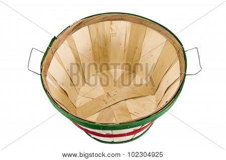 Large Empty Bushel Basket