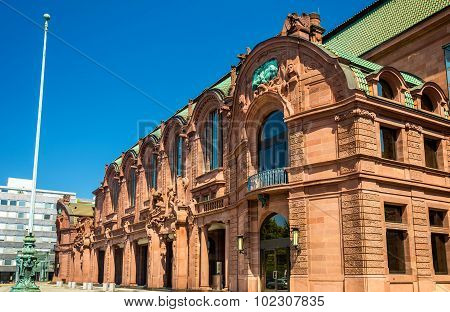 Mannheim Rosengarten a Concert Hall and Congress Centre in Baden-Wurttemberg Germany poster