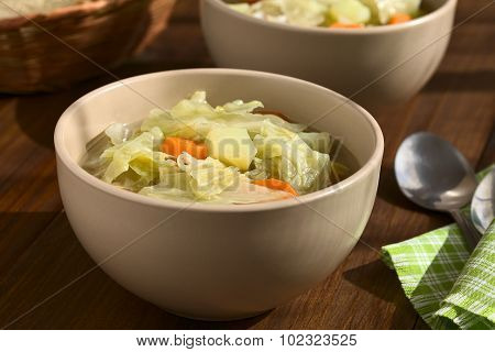 Savoy Cabbage Carrot Potato Stew