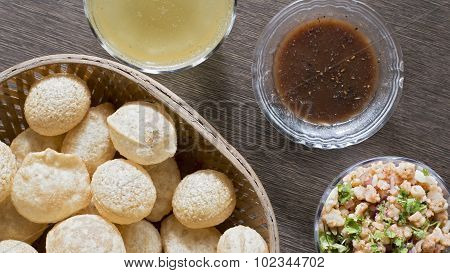Pani Puri, Golgappe, Chat Item, India