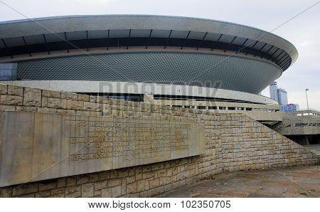 Katowice, Poland - September 18, 2015: Sports Hall Spodek On 18