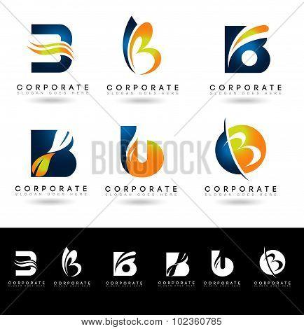 Letter B Logo Designs