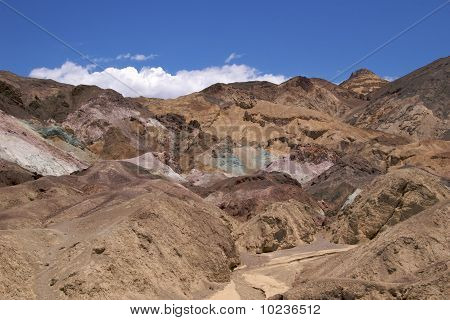 Mineral mountains, Death Valley