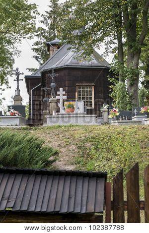 Old Wooden Orthodox Catholic Church, Nowica, Poland