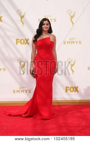 LOS ANGELES - SEP 20:  Ariel Winter at the Primetime Emmy Awards Arrivals at the Microsoft Theater on September 20, 2015 in Los Angeles, CA