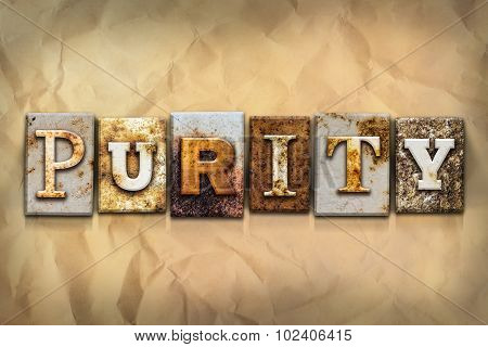 Purity Concept Rusted Metal Type