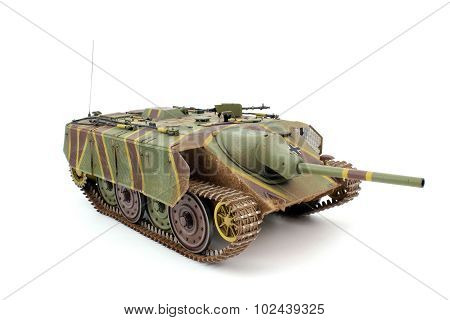 A Scale Model Of The Tank E-10